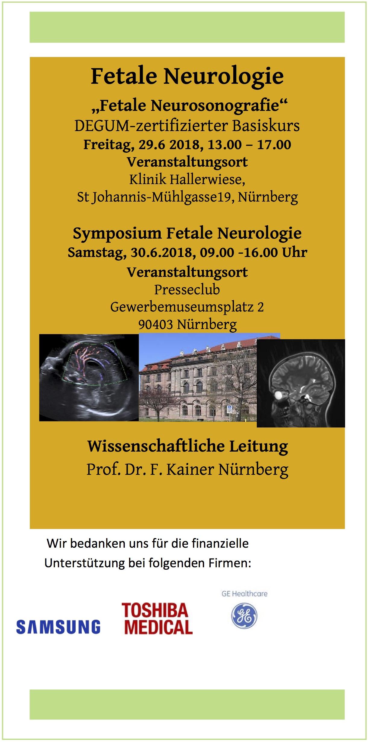 Fetale Neurosonografie